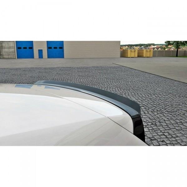 Spoiler CAP passend für VW POLO MK5 GTI Facelift schwarz Hochglanz