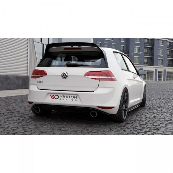 Spoiler CAP passend für VW GOLF 7 GTI CLUBSPORT schwarz matt