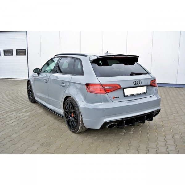 Spoiler CAP AUDI RS3 8VA Carbon Look