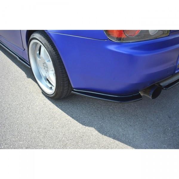 Heck Ansatz Flaps Diffusor passend für HONDA S2000 schwarz matt
