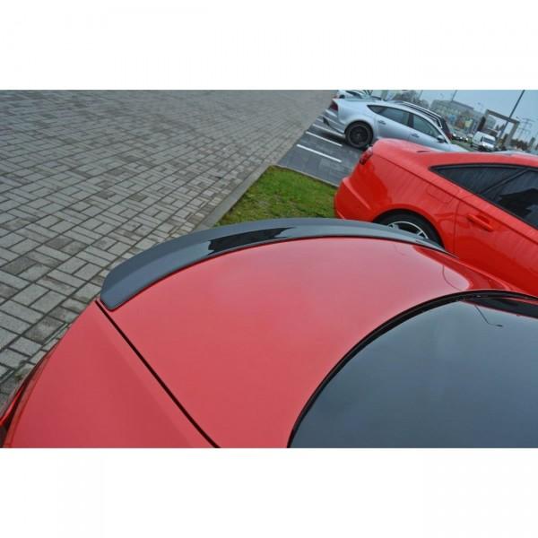 Spoiler CAP passend für Audi A5 F5 S-Line schwarz matt