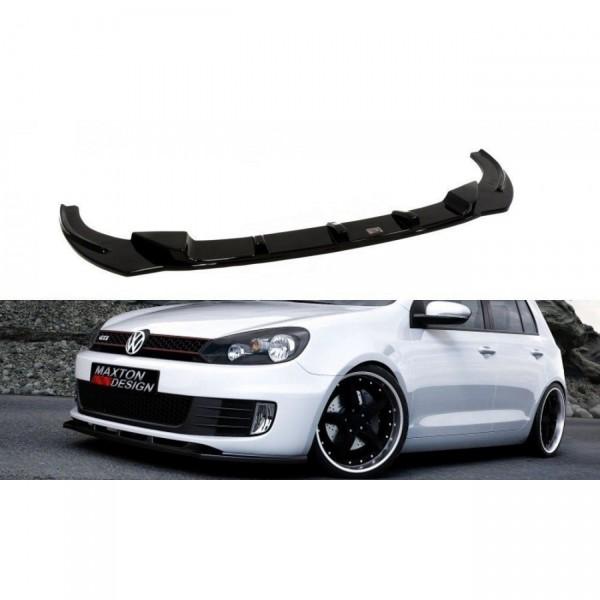 Front Ansatz passend für VW GOLF 6 GTI schwarz matt