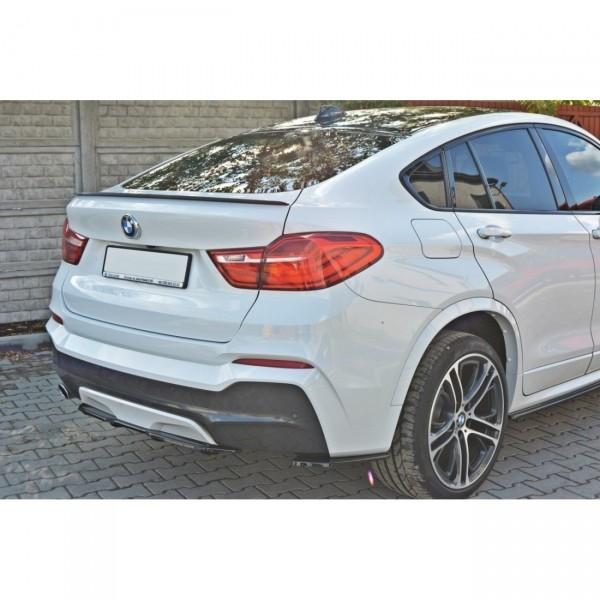Diffusor Heck Ansatz passend für BMW X4 M Paket DTM LOOK Carbon Look