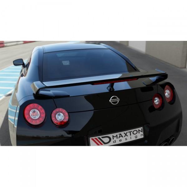 Spoiler CAP passend für NISSAN GT-R vor Facelift COUPE (R35-SERIES) (2007-2010) schwarz matt