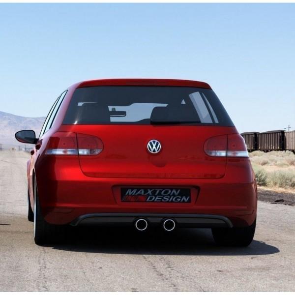 Heckschürze passend für VW Golf V R32 Look für VW Golf VI schwarz matt